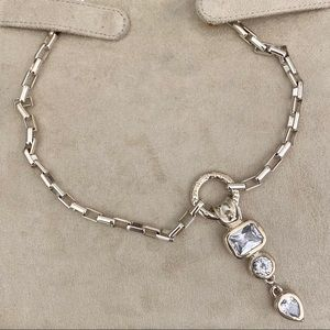 Tiered Jewel Drop Necklace